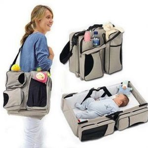 3 in 1 Multi Purpose Diaper Bag