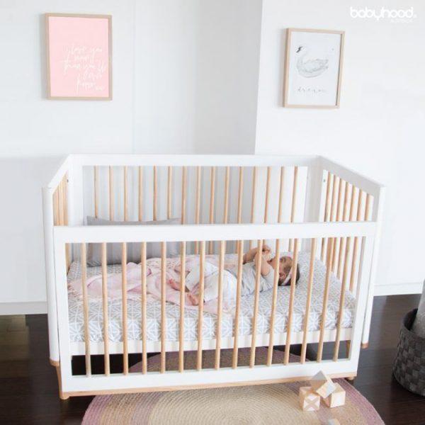 babyhood-riya-cot-wh-be